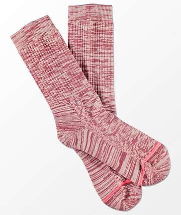 Stance Uncommon Classic calcetines en rosado