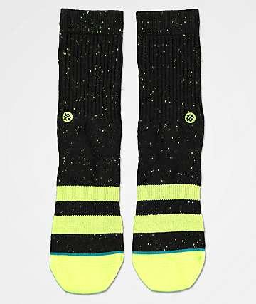 Stance Vibe calcetines negros para niños
