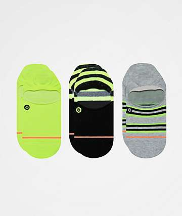 Stance Volt 3 Pack No Show Socks