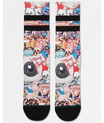 Stance Zombie Xmas Crew Socks