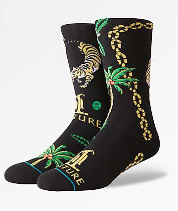 Stance x MIGOS Culture II Black Crew Socks