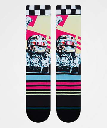 Stance x Michael Kagan Global Player Crew Socks