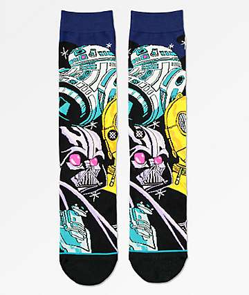 Stance x Star Wars Warped R2D2 Crew Socks
