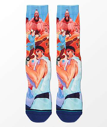 Stance x Street Fighter II Crew Socks