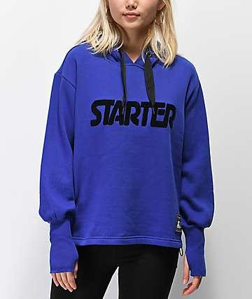 Starter Oversize Cobalt Hoodie