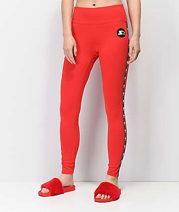 Starter Red Leggings