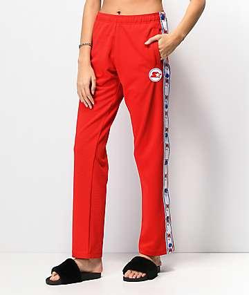 Starter pantalones de chándal en rojo