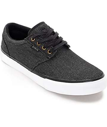 State Elgin Black Denim Skate Shoes