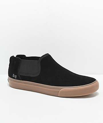 State Felton Black & Gum Skateboard Shoes