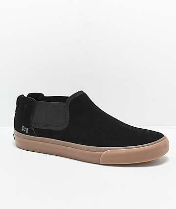 State Felton zapatos skate en negro y goma