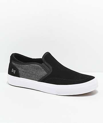State Keys zapatos skate de mezclilla negra