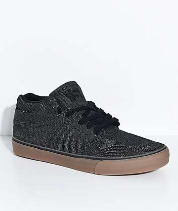 State Mercer zapatos de mezclilla negra y goma