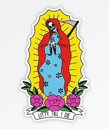 Stickie Bandit Mother Mary Sticker