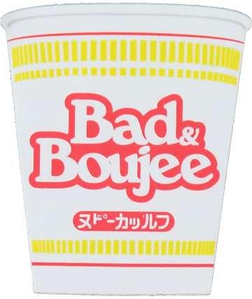 Stickie Bandits Bad Soup pegatina