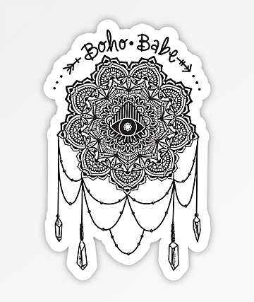 Stickie Bandits Boho Catcher Sticker