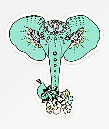 Stickie Bandits Boho Flowers Sticker