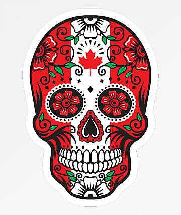 Stickie Bandits Canada Sugar Skull Sticker