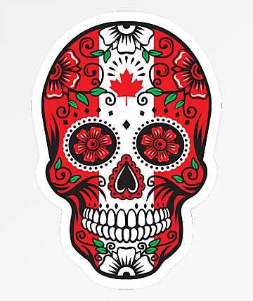 Stickie Bandits Canada Sugar Skull Sticker