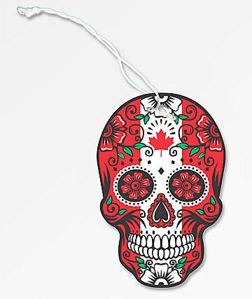 Stickie Bandits Canadian Sugar Skull Air Freshener