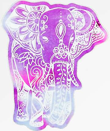 Stickie Bandits Eleprint Elephant Sticker