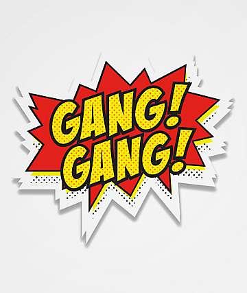 Stickie Bandits Gang Gang Comic Sticker