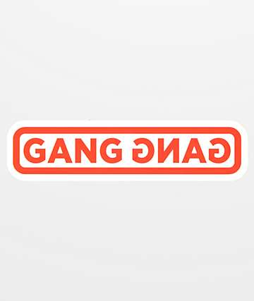 Stickie Bandits Gang Gang Game Sticker