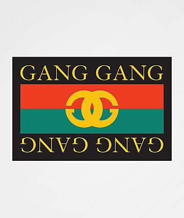 Stickie Bandits Gang Gang Logo Sticker