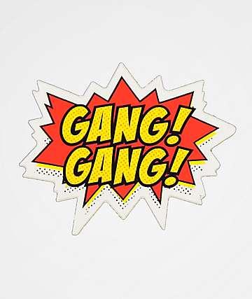 Stickie Bandits Gang Gang pegatina