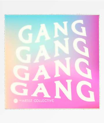 Stickie Bandits Gang Square Sticker