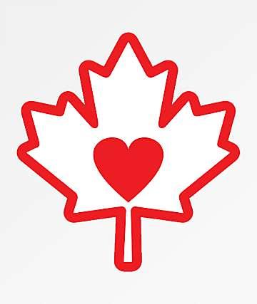 Stickie Bandits Heart Leaf Sticker