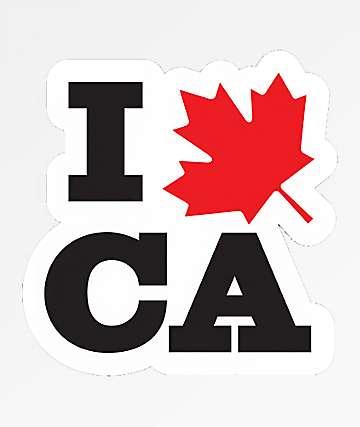Stickie Bandits I Leaf Canada Sticker