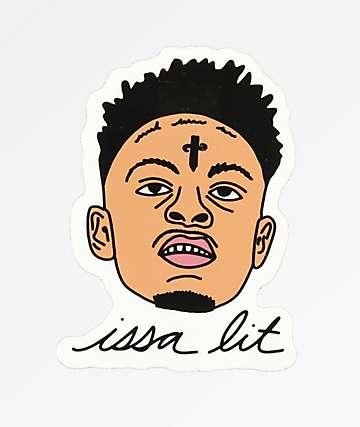 Stickie Bandits Issa Lit Sticker