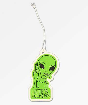 Stickie Bandits Later Alien Air Freshener