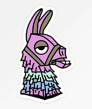 Stickie Bandits Llama pegatina