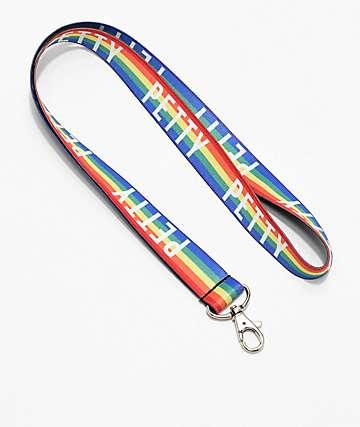 Stickie Bandits Petty Rainbow Elastic Lanyard