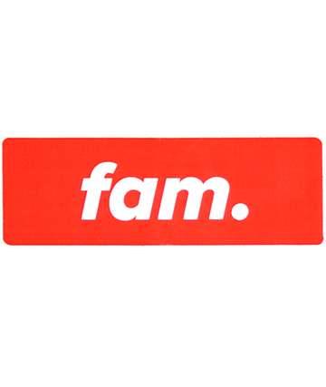 Stickie Bandits Red Fam Sticker