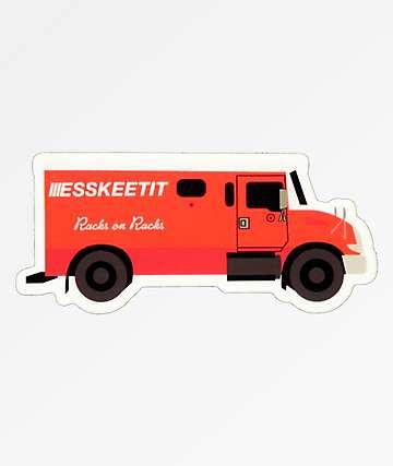 Stickie Bandits Safe Truck pegatina
