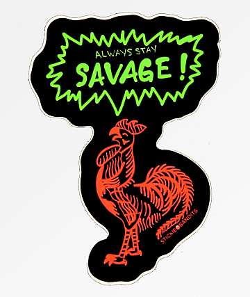Stickie Bandits Savage Bird Sticker
