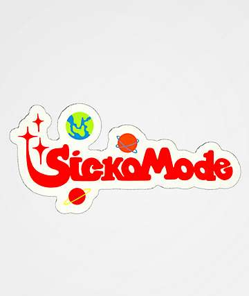 Stickie Bandits Sicko Mode pegatina