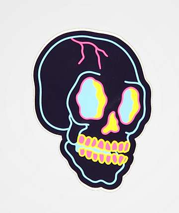 Stickie Bandits Skully Sticker