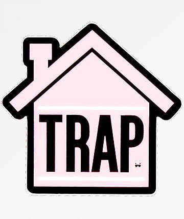 Stickie Bandits Trap House pegatina rosa