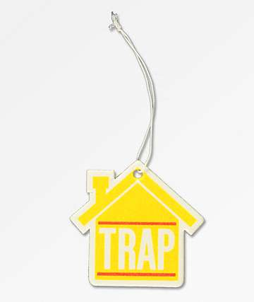 Stickie Bandits Yellow Trap House Air Freshener
