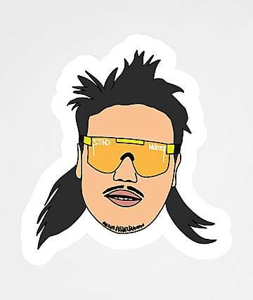Stickie Bandits Zend Nudez Sticker