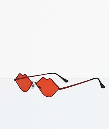 Stones Red Sunglasses