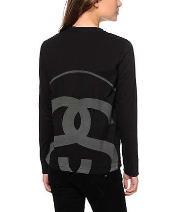 Stussy 3M Reflective Big Link Long Sleeve T-Shirt