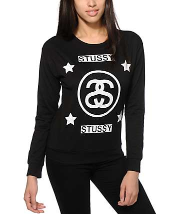 Stussy 4 Star Long Sleeve T-Shirt