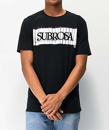 Subrosa Copy Black T-Shirt