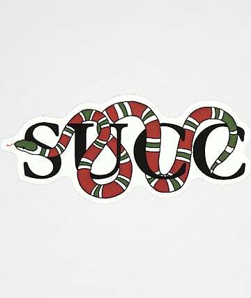 Succ Clout Sticker