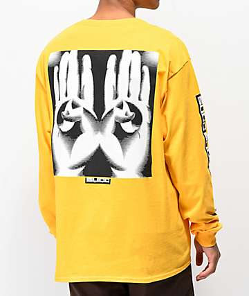 Succ Hand Gold Long Sleeve T-Shirt