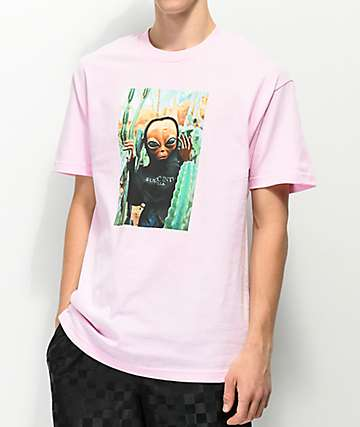 Succ Lil Mayo Cactus Light Pink T-Shirt